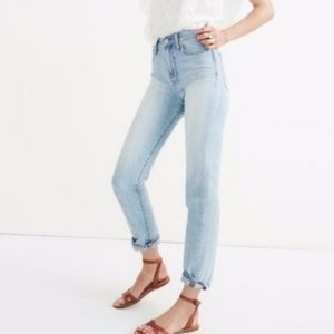 Madewell Perfect Summer jeans, high rise